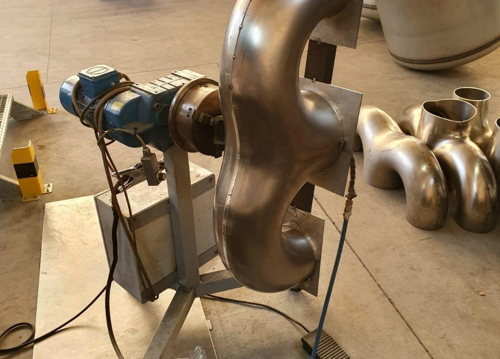 3 und 4 Wege Rohrbögen aus Hitzebeständigen Stahl 2.485