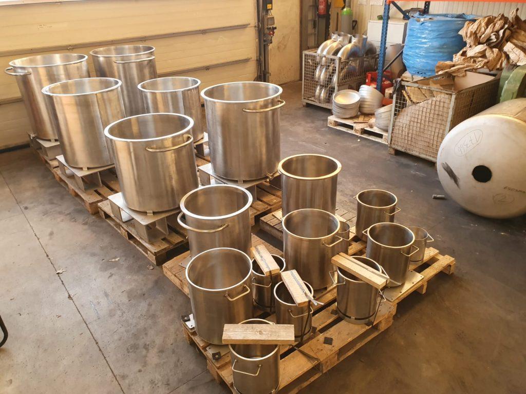 Geschliffene Behälter für Chemieindustrie
