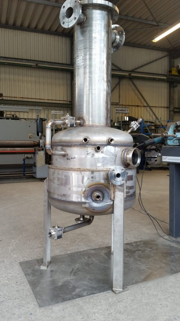 Vakuumbehälter für eine Gefriertrocknungsanlage