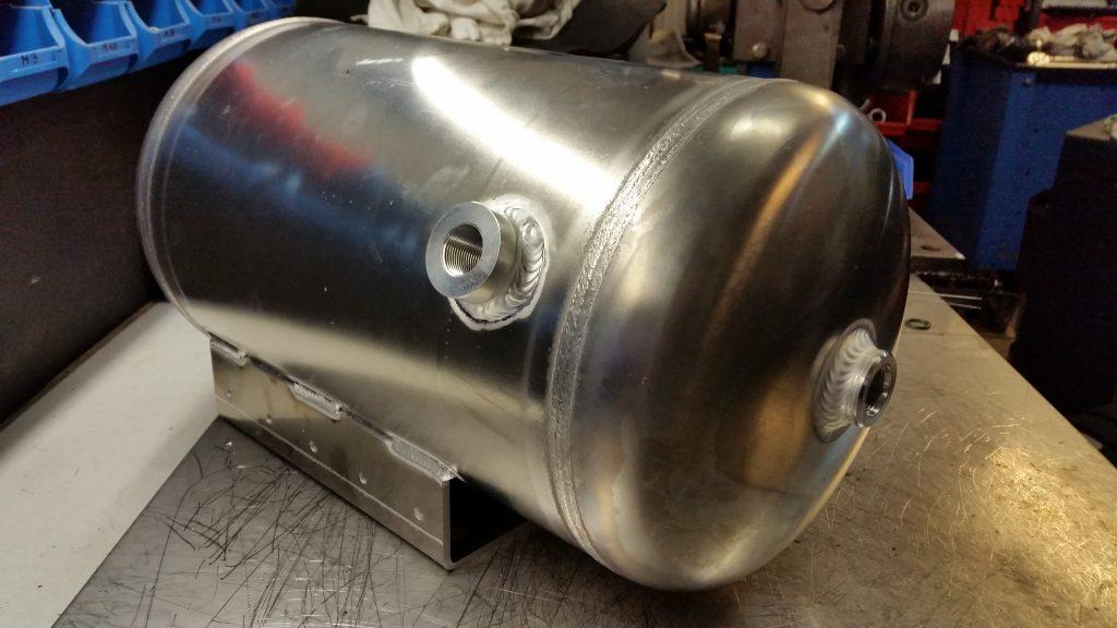 Druckbehälter aus Aluminium