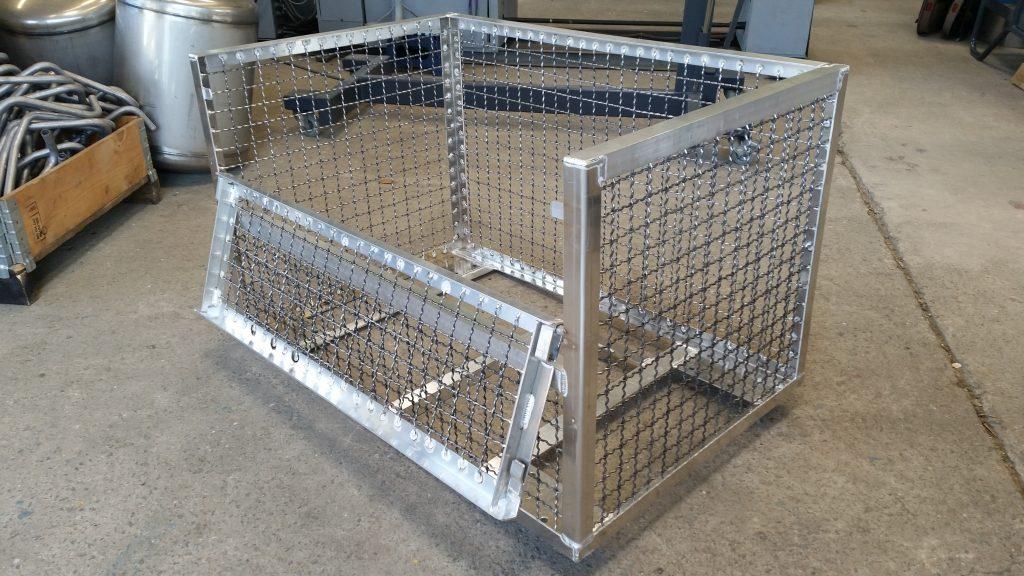 Transportbehälter aus Aluminium
